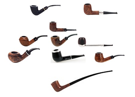 Pipe tobacco information from cigar connoisseur for Kinds of pipes